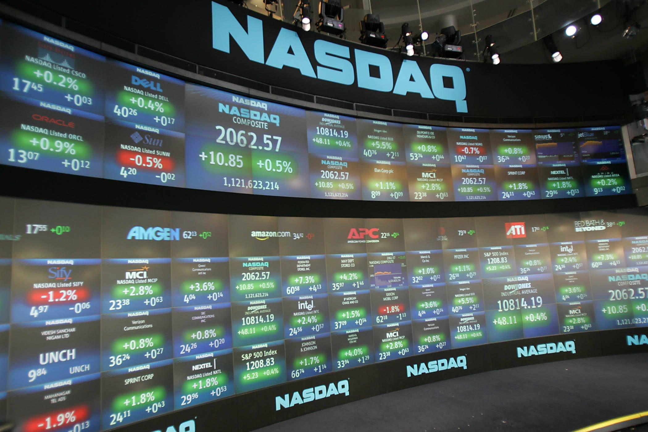 как NASDAQ пострадал от коронавируса