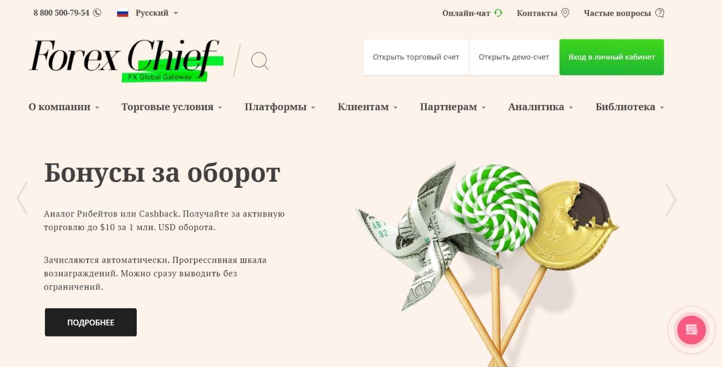 официальный сайт forexchief