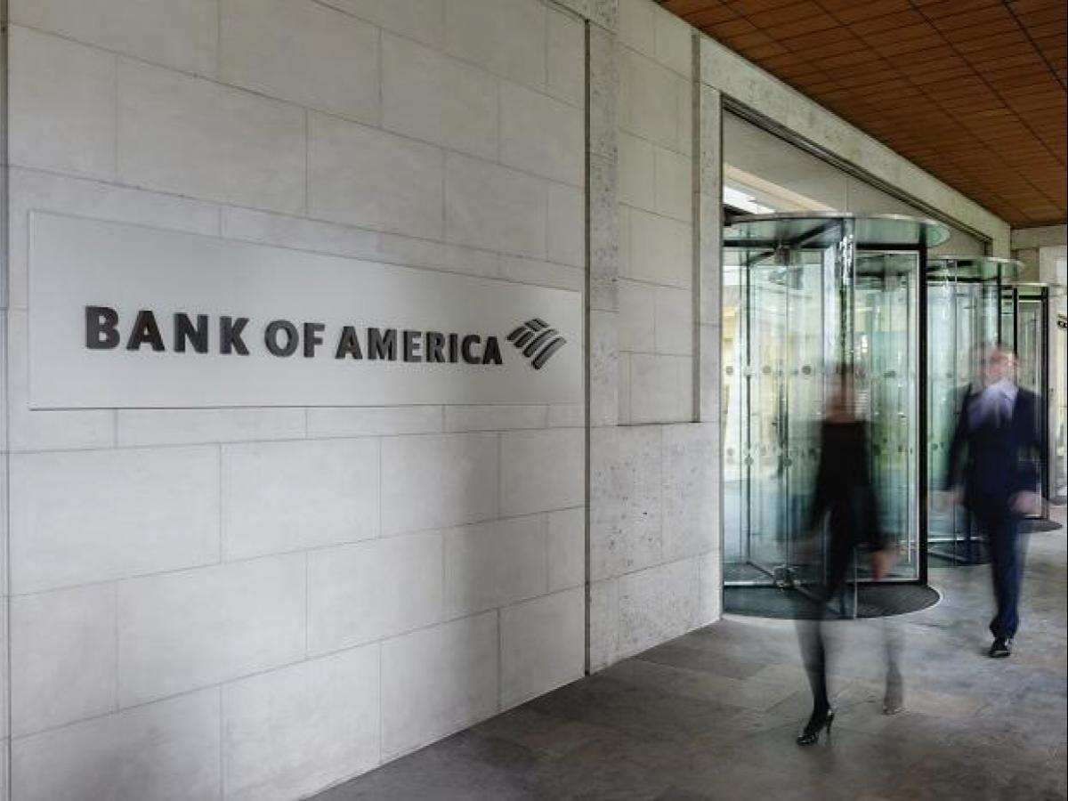 инвестиции в акции bank of america