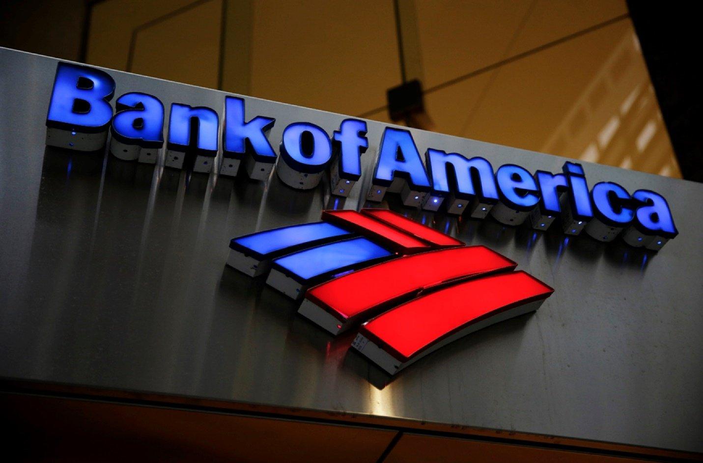 торговля акциями bank of america