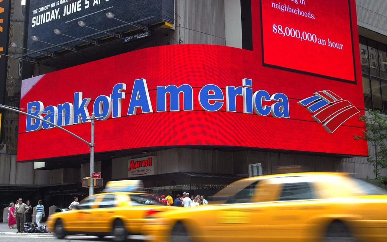 торговля бумагами bank of america