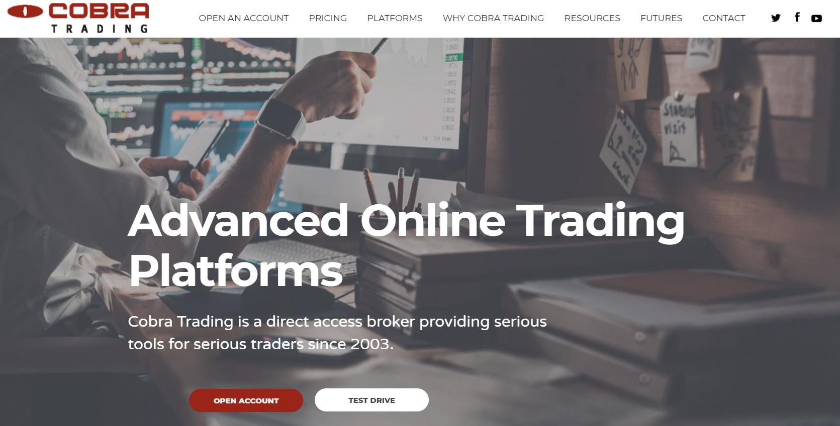 официальный сайт cobra trading