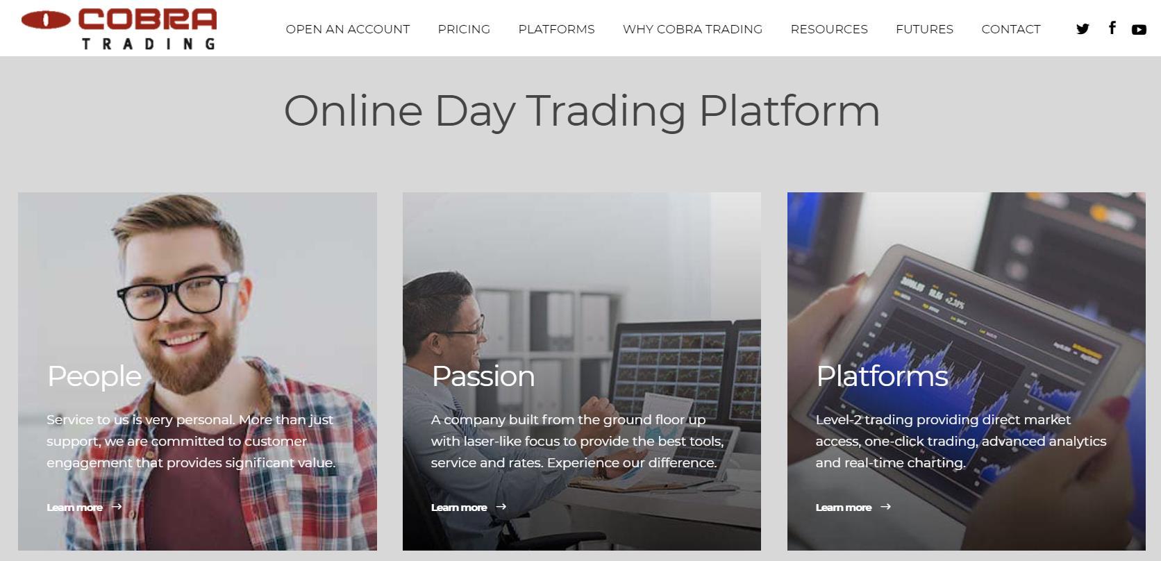 обзор компании cobra trading