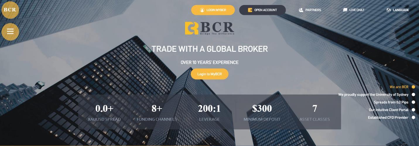 bcr сайт брокера