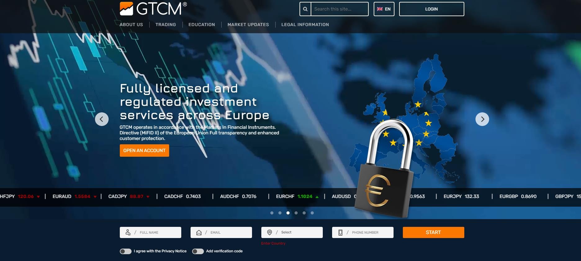 официальный сайт gtcm