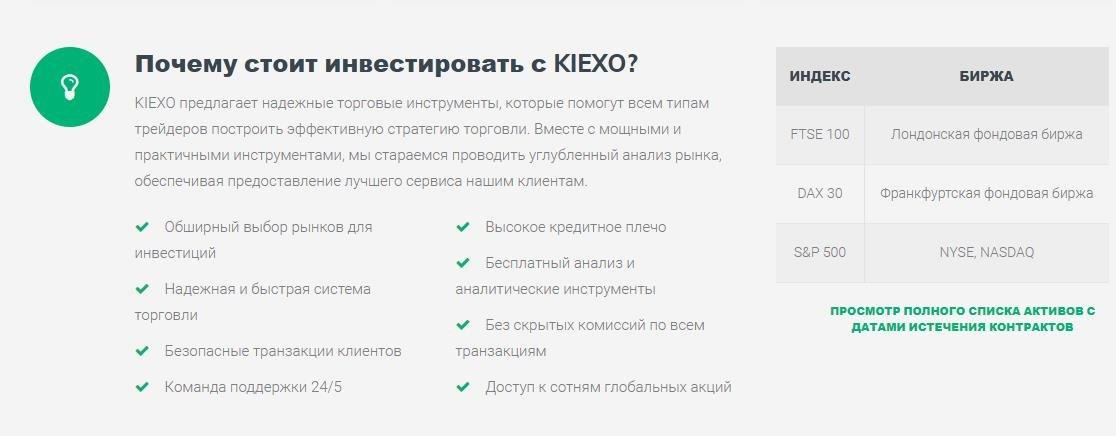 обзор и отзывы kiexo