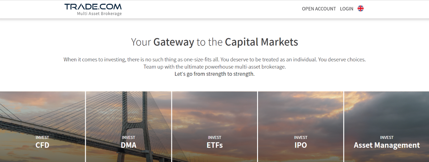 trade.com официальный сайт брокера